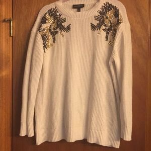 Lane Bryant Size 14/16 Sequin Accent Sweater